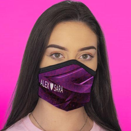 Custom Printed Face Mask - Series X