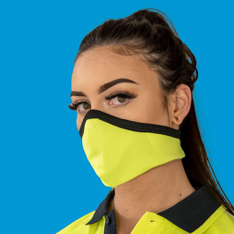 Design your own Hi-Viz Series X Face Mask